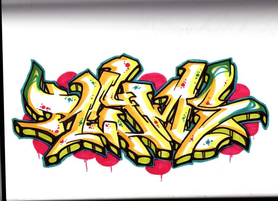 Love Graffiti Sketches Graffiti Sketch by Reyms