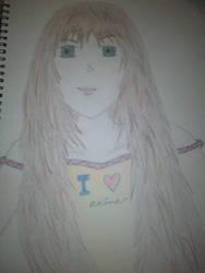 Anime Girl #2 by ChristineK6277