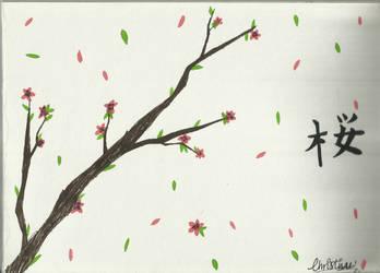 Sakura by ChristineK6277