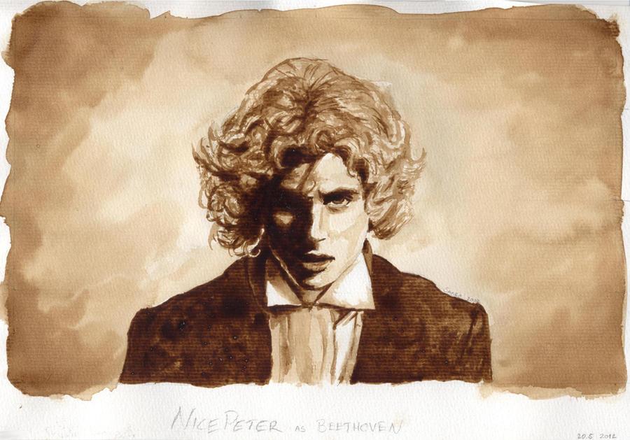 NicePeter as Beethoven by Tarawi