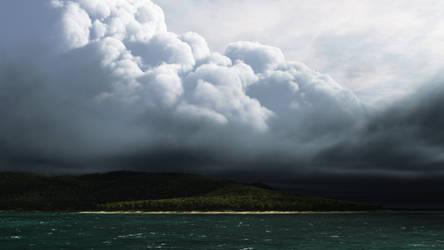 Tropical Storm - Landscape