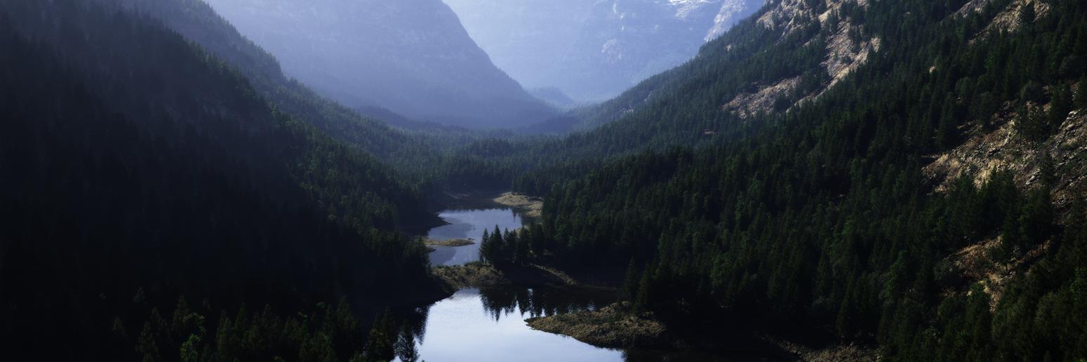 Glacier Valley by Gannaingh32