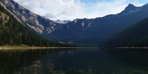 Avalanche Lake by Gannaingh32