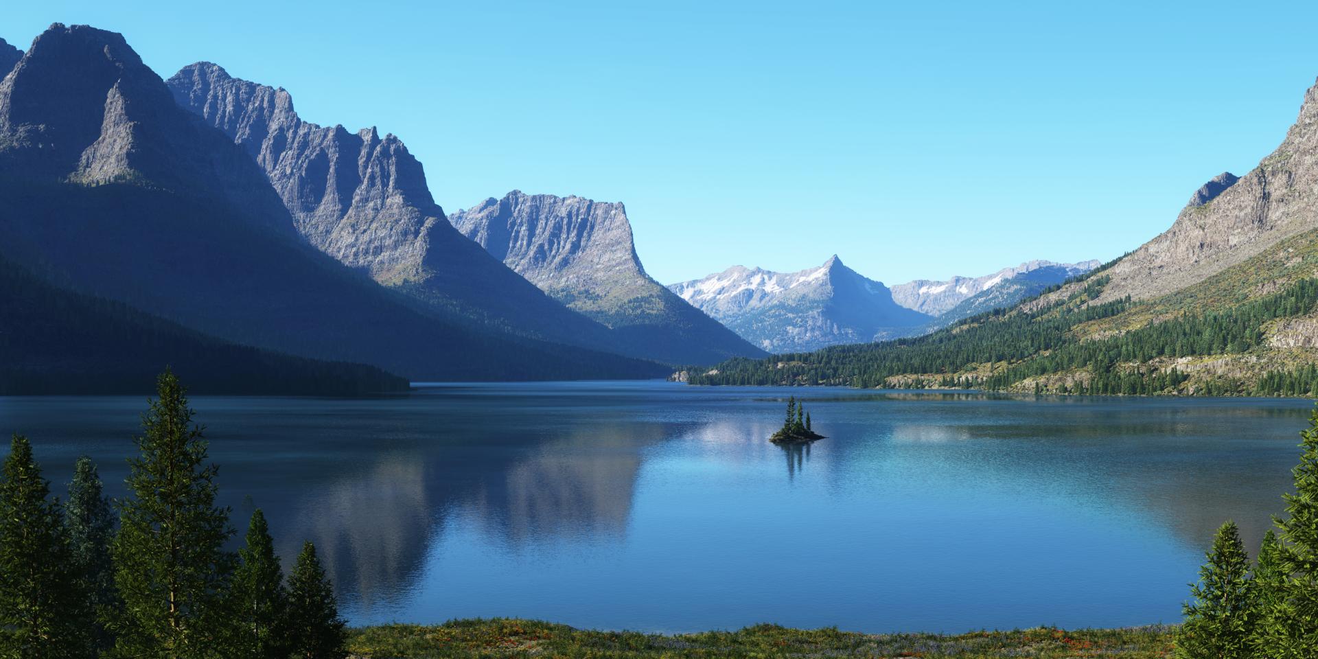 St Mary Lake by Gannaingh32