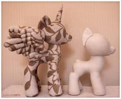 MLP - Pony Plushie Pattern Prototype