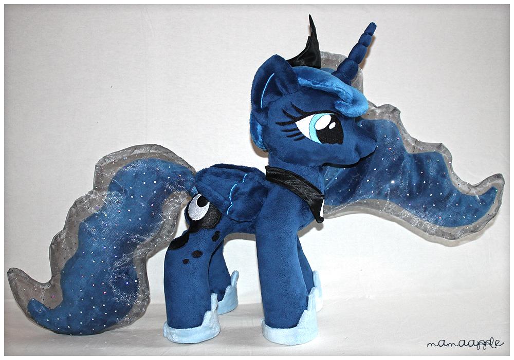 Princess Luna Plushie by mamaapple