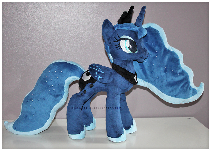 Princess Luna Plushie - V3 by mamaapple