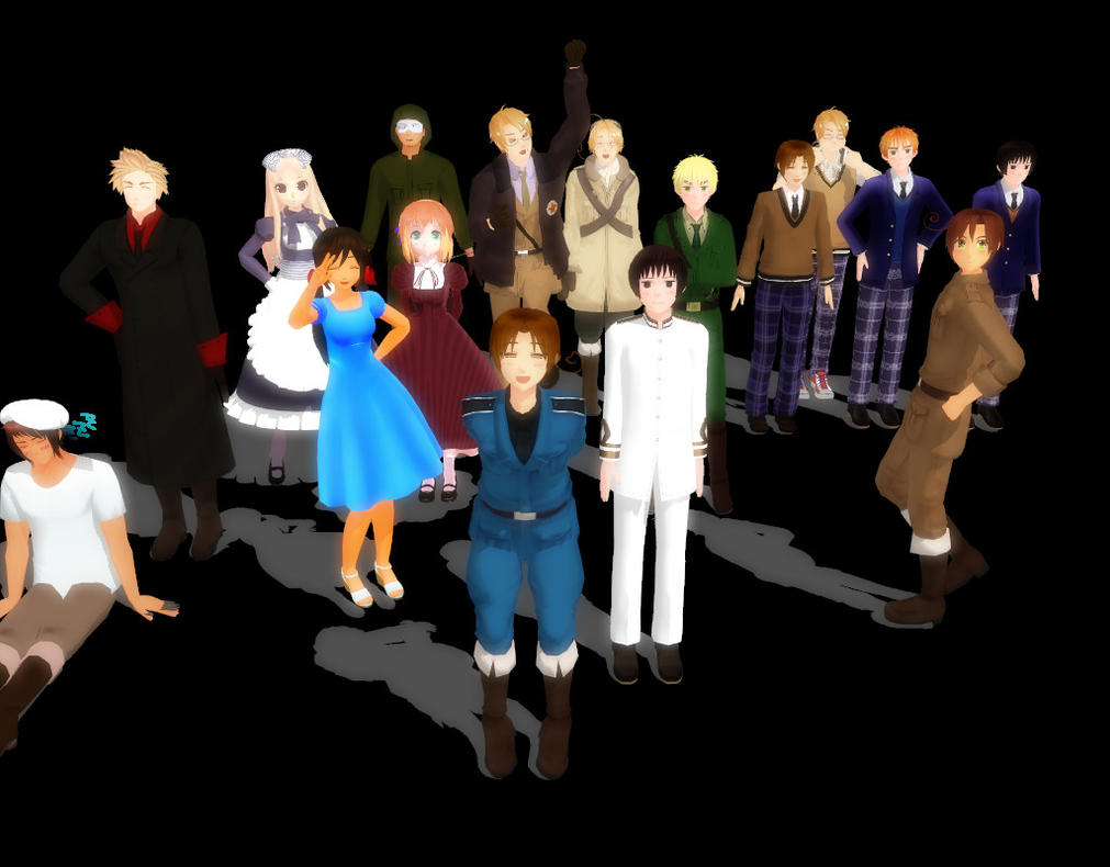 hetalia space program - photo #29