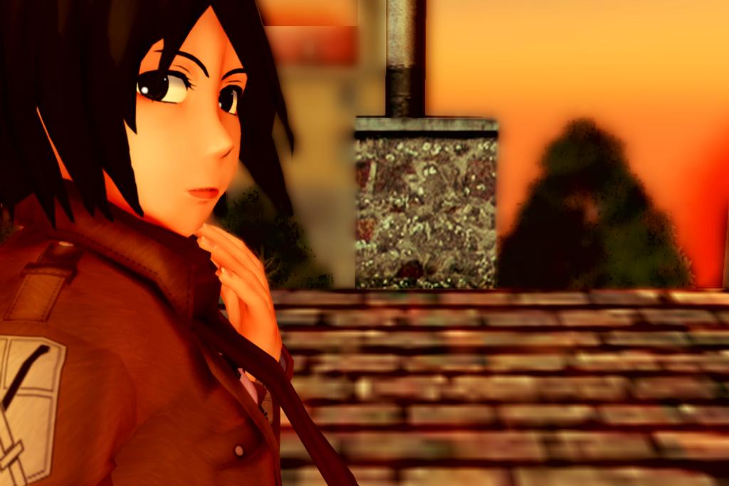 Mikasa is the best by desu-kuma