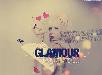 Glamour Lady GaGa by dirtyheaven