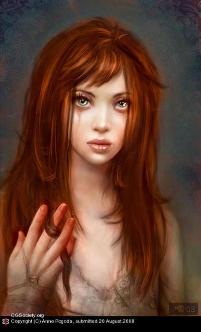 Vous acceptez les fantômes ? - Page 2 Portrait_Of_A_Witch_by_Azurelle