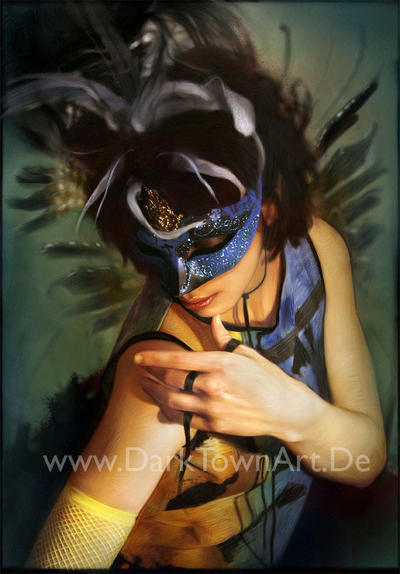 Masquerade Overpainting by ZombieSandwich