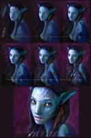 Avatar Making Of by ZombieSandwich
