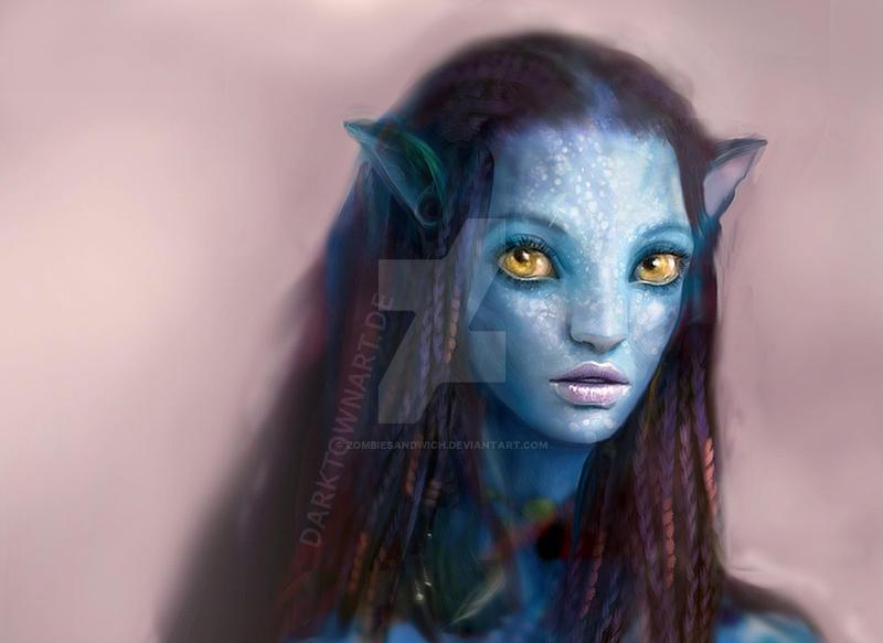 Avatar Girl Close by ZombieSandwich