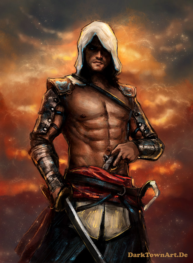 Assassin S Creed 4 Edward Kenway Revised By Zombiesandwich On
