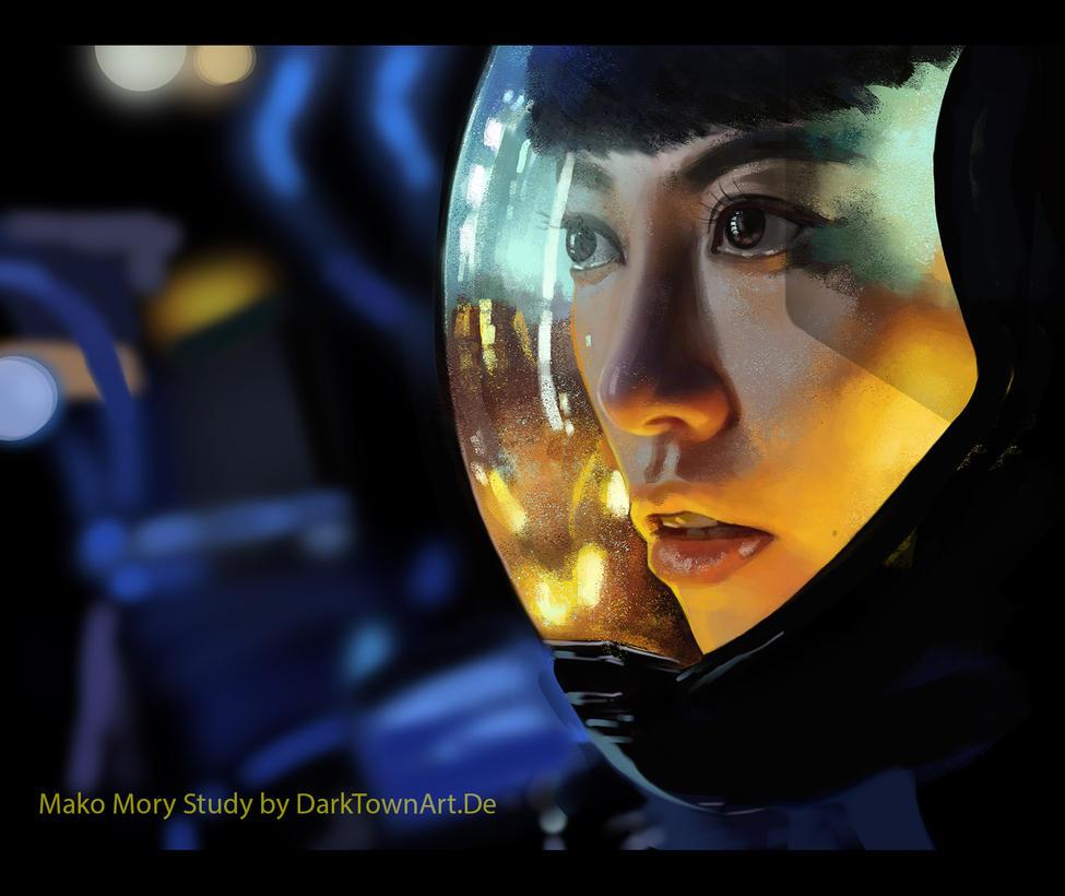 Mako Mori Study With Video by ZombieSandwich