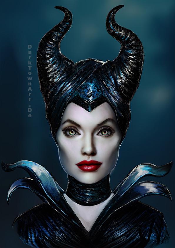 Maleficent Portrait + Video by ZombieSandwich