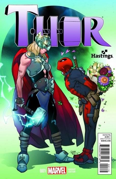 Thor by ZombieSandwich