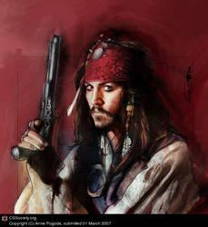 Jack Sparrow by ZombieSandwich