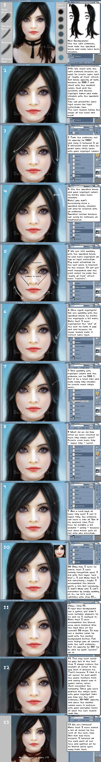 Tutorial: How to Paint Hair