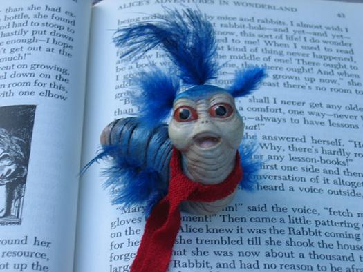 'Book Worm' Labyrinth by AmberCherryBomb