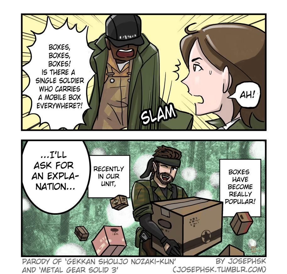 Boxes by JOSEPHSK