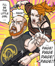 pat and paige play resident evil revelations 2 by JOSEPHSK