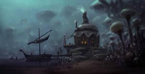 Swamp Shack Concept by JoshEiten