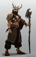The Druid by JoshEiten