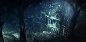The Titan Wood Shrine