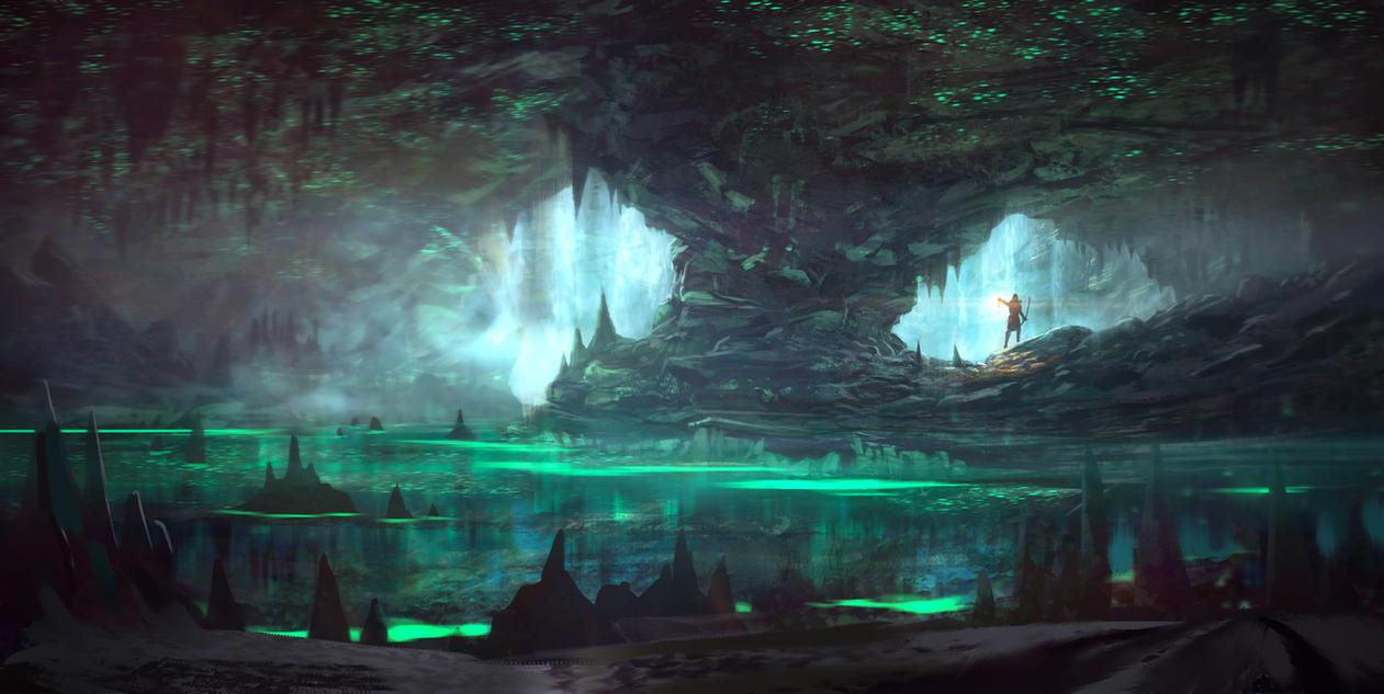 Bio-Cave by JoshEiten