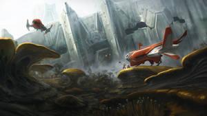 Interstellar Mushroom Hunting