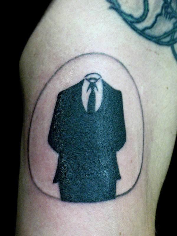 Anon Tattoo Why We Protest Anonymous Activism Forum