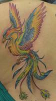 Phoenix Backpiece