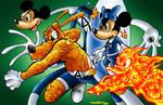 Disney Fantastic Four by Dreekzilla