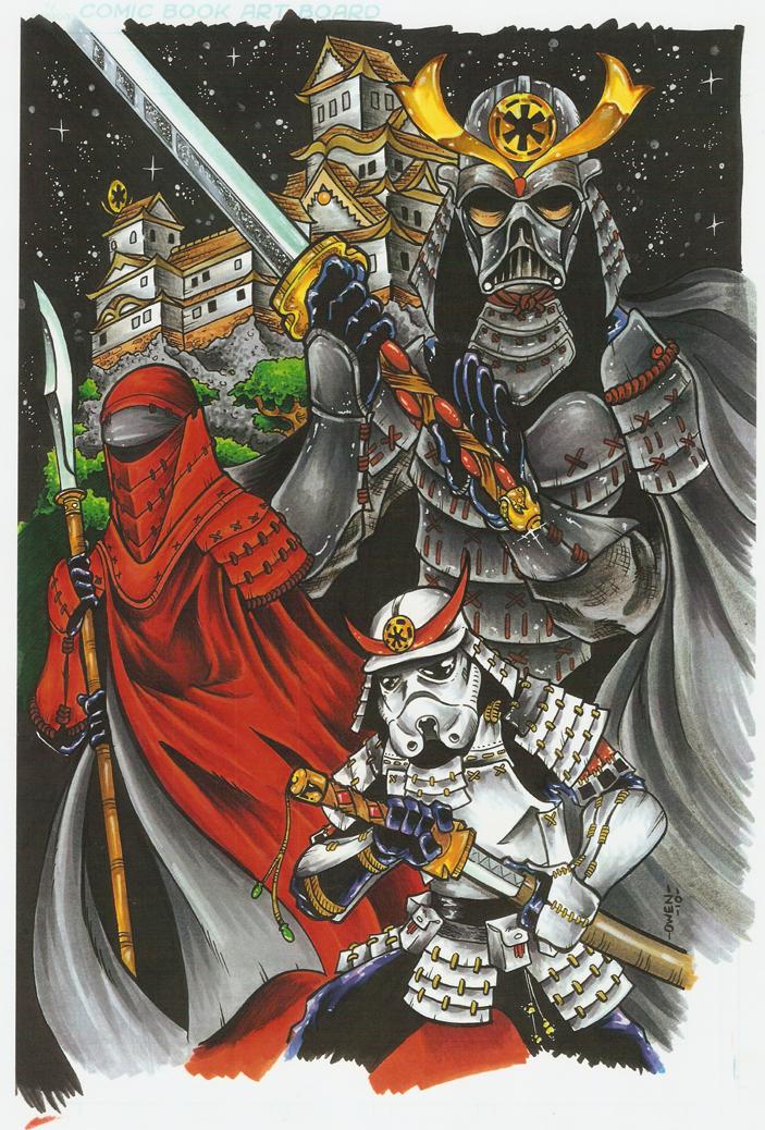 Samurai Sith by Dreekzilla