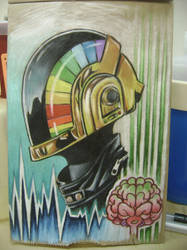 Daft Punk 2 by Dreekzilla