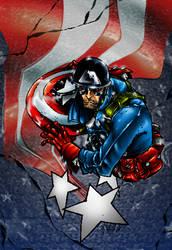 Canete Captain America by Dreekzilla