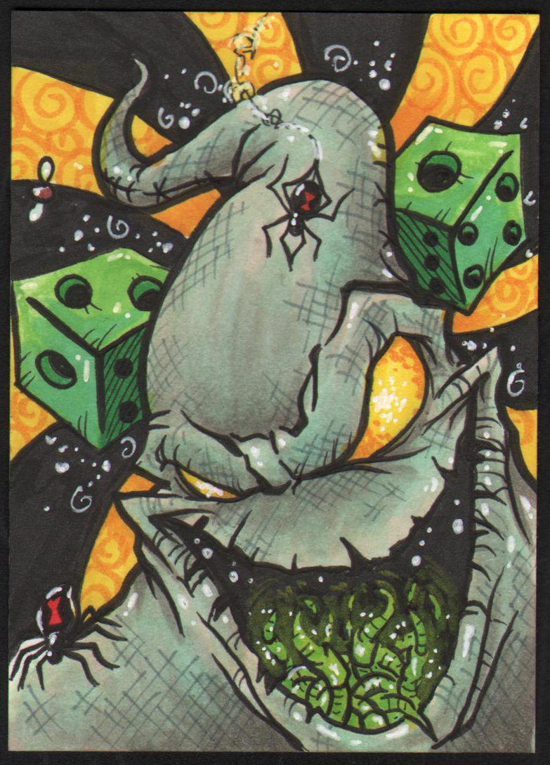 Displaying 20> Images For - Oogie Boogie Art... Nightmare Before Christmas Pumpkin Patch Drawing