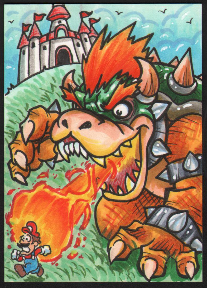 Day 10 Bowser by Dreekzilla