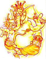 Ganesh by Dreekzilla