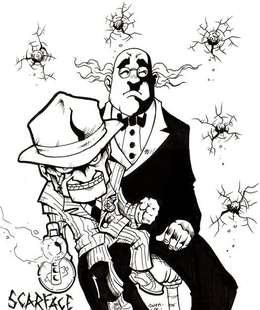Batman scarface by dreekzilla on deviantart - Scarface cartoon wallpaper ...