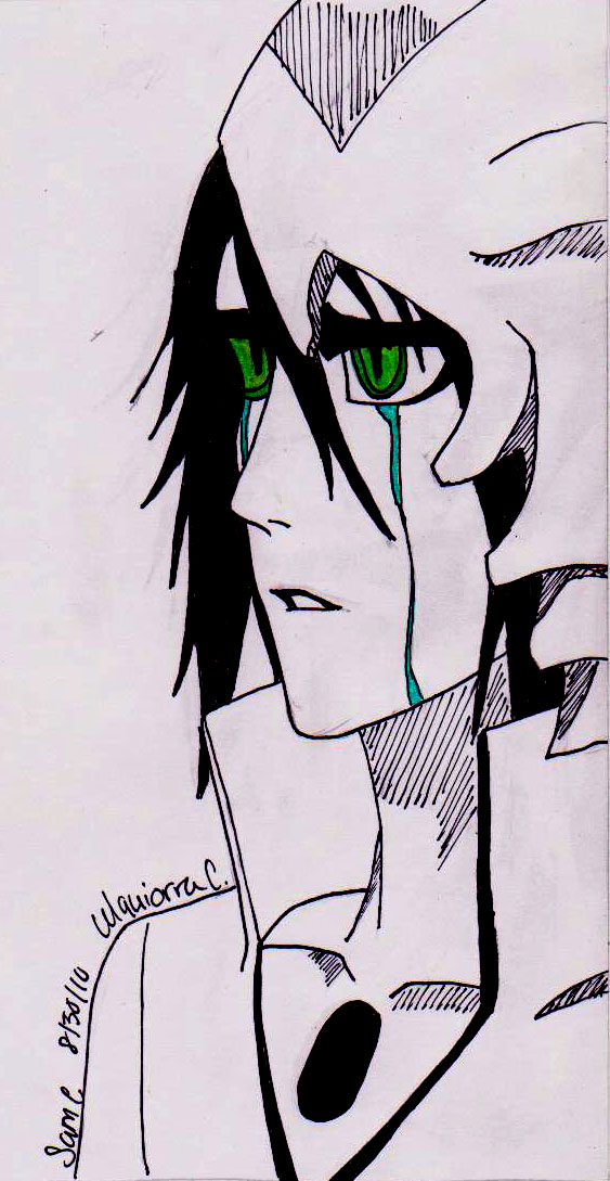 Ulquiorra Cifer by sam-j-c93