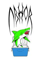 Abhor logo by Mothwomang