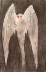 mothman 1 by Mothwomang