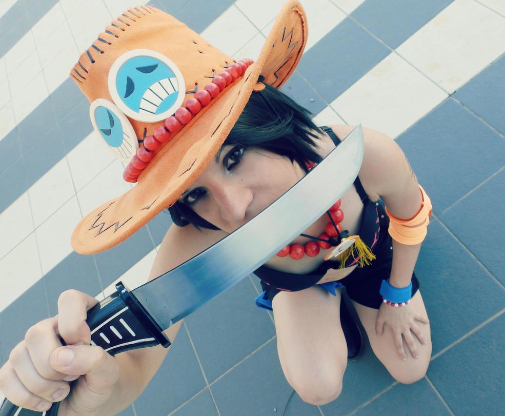 Ace Female Version Cosplay by KunoichiPinkOsaki