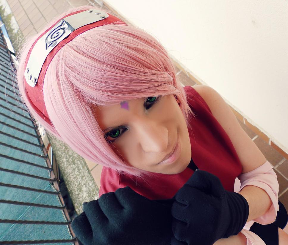 Sakura Haruno Cosplay by KunoichiPinkOsaki