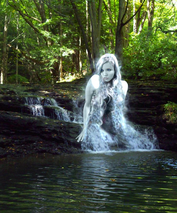 River Elf or Nymph - vs.1 by Selene-Blackthorn