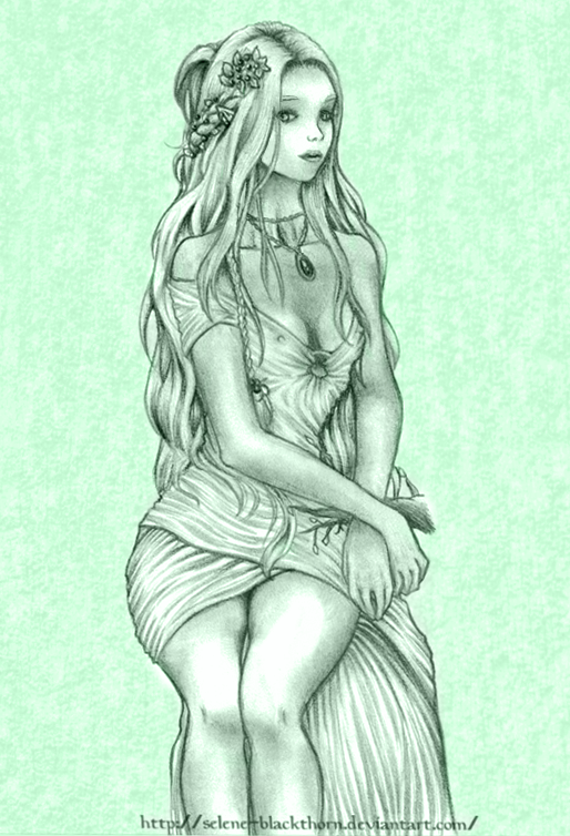 Elven queen by Selene-Blackthorn
