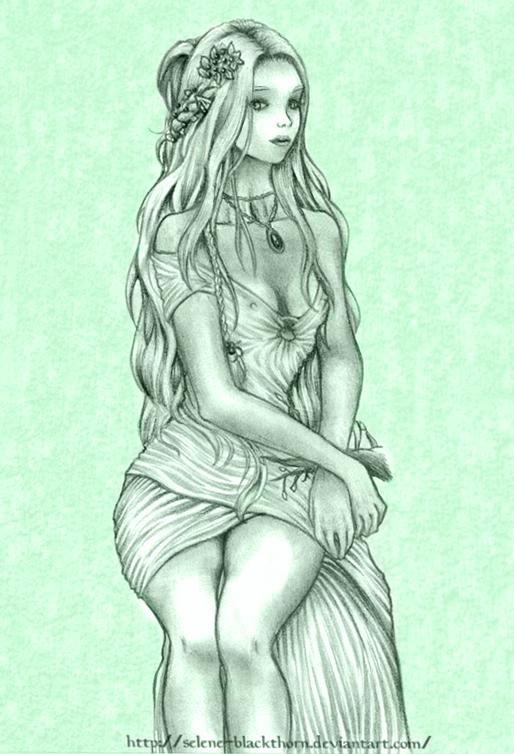 Elven queen by Selene-Blackthorn